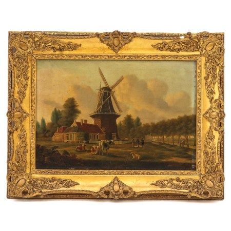 An Oil on Panel Signed J.L. Sels 1851