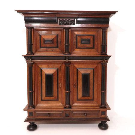 A Cushion Cabinet Circa 1700