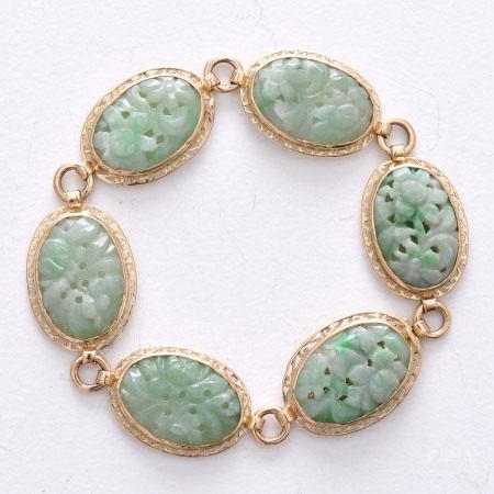 A 14KG Jade Bracelet