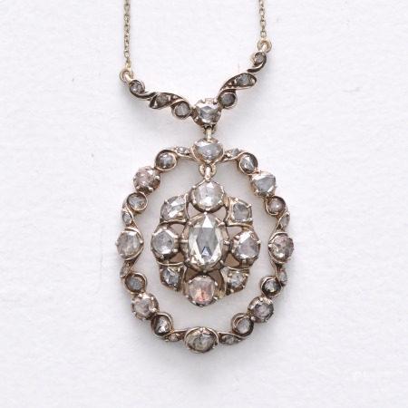 A Beautiful Diamond Pendant