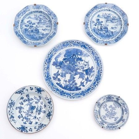 A Diverse Collection of 5 Plates