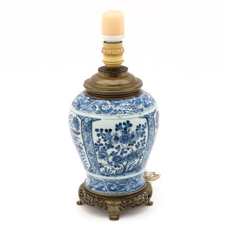 A Blue and White Lamp