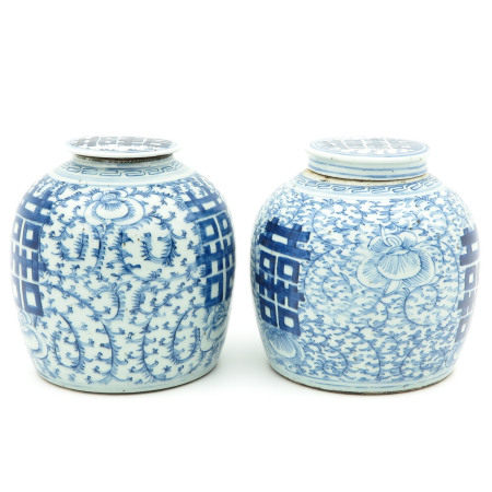 A Pair of Ginger Jars