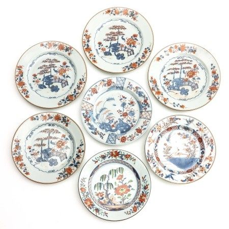 A Collection of 7 Plates