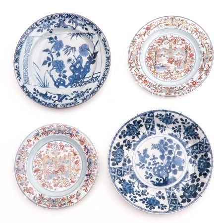 A Collection 4 Plates