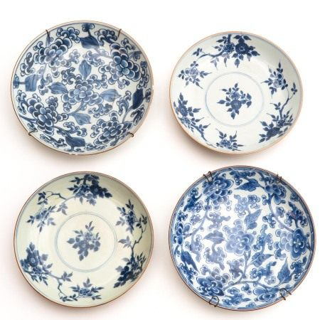A Collection of 4 Plates