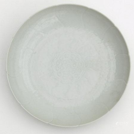 A Blanc de Chine Dish