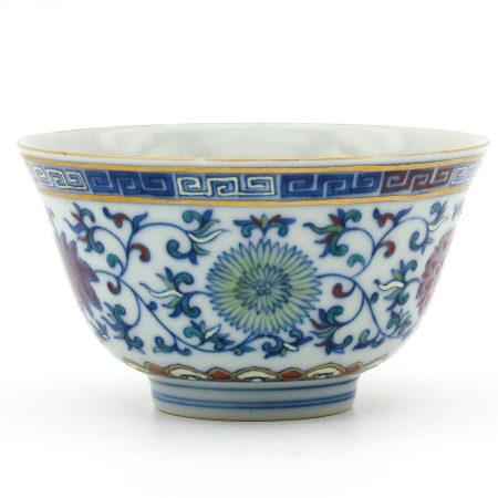 A Small Doucai Bowl