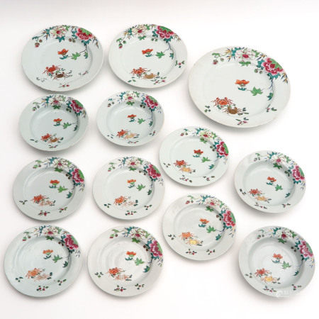 A Series of 13 Plates