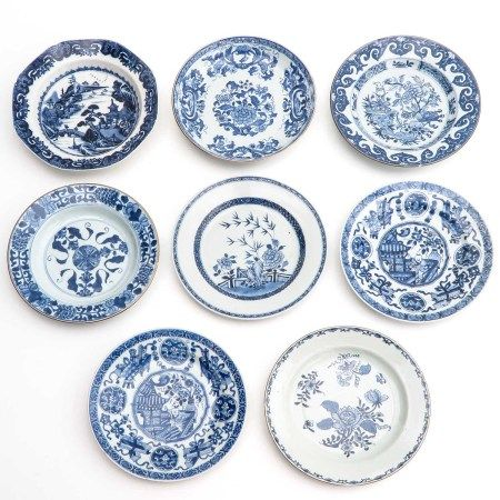 A Collection of 8 Plates