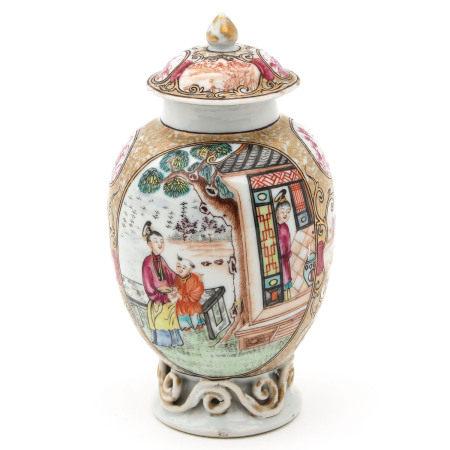 A Mandarin Decor Tea Box