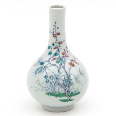 A Small Doucai Vase