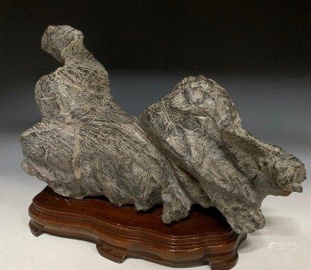 A Chinese Scholar's Rock Linbi Stone