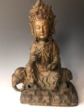 A Bronze Buddha