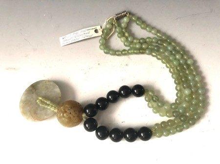 A Jade Necklace