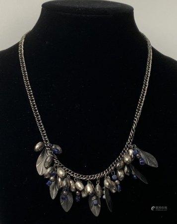 An Antique Silver Necklace