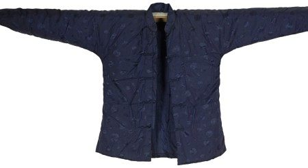 A Chinese Blue Lined Winter Jacket