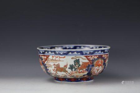 A Japanese Imari Style Bowl