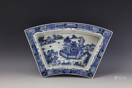 A Chinese Blue and White Narcissus Bowl