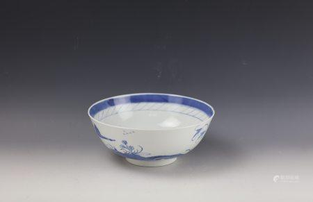 A Chinese Blue and White ROUND Bowl