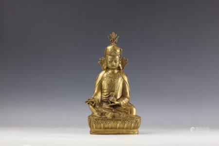 A Bronze Buddha Bronze Buddha Figure