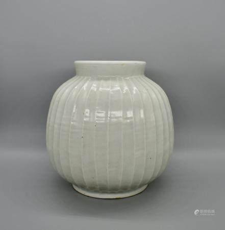 White Glazed Vase