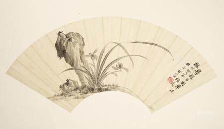 QI KUN (1894/1901-1944), ORCHID ROCK GARDEN