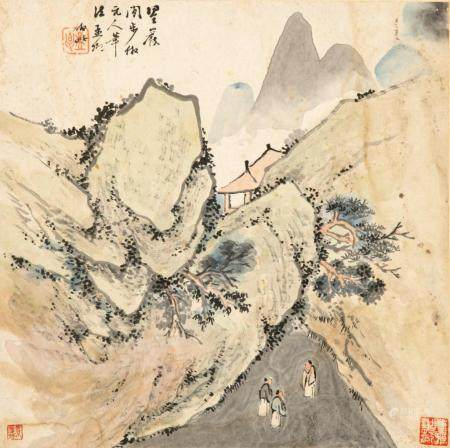 PAINTING IN THE STYLE OF WU ZHEN (1280-1354)