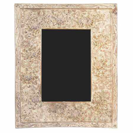 EXPORT WHITE METAL FRAME LATE QING DYNASTY-REPUBLIC PERIOD, 19TH-20TH CENTURY