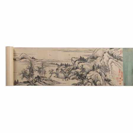ATTRIBUTED TO WU DACHENG, LANDSCAPE 20TH CENTURY
