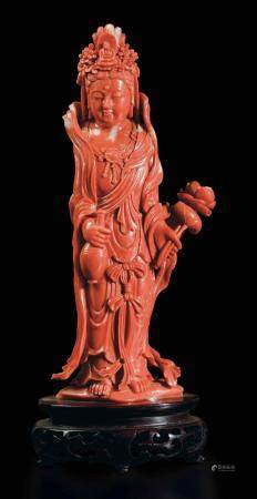 A figure of Guanyin, China, early 1900s