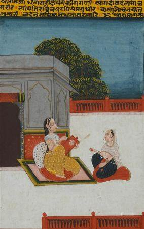 Anonymous painter. Jaipur. Late 18th/19th century