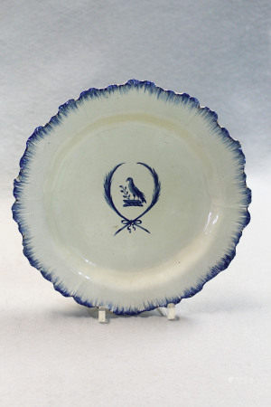A collection of 18th century creamware plates,