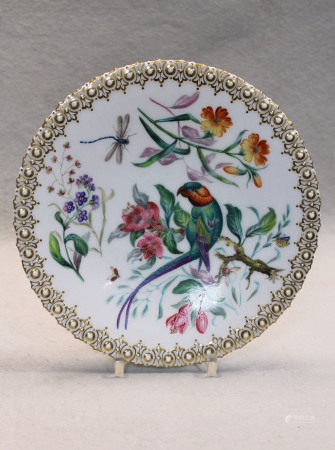 A set of twelve porcelain plates,