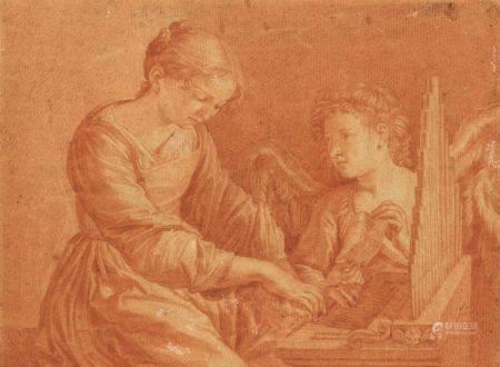 ECOLE FRANÇAISE DE LA FIN DU XVIIIÈME SIÈCLE - La leçon de [...]