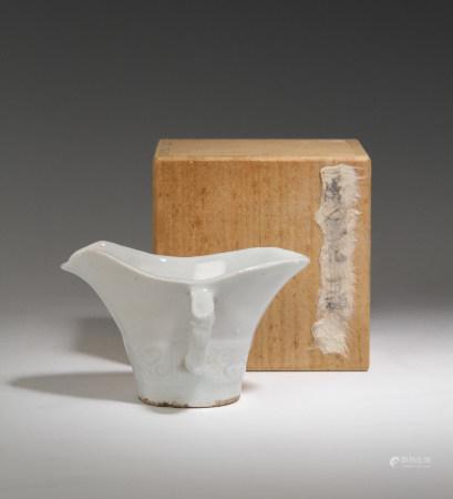 德化白瓷杯