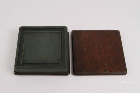 清代 方池硯