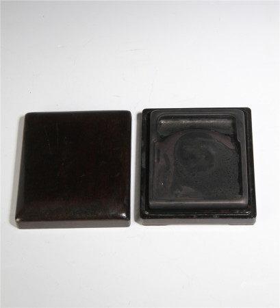 清代 方形硯