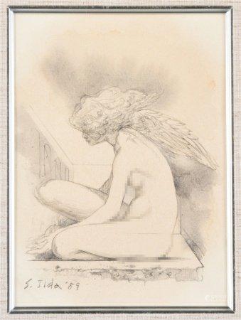 S.Iida 天使 素描