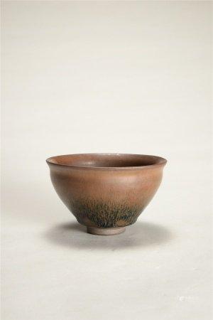 宋代 建窯天目茶碗