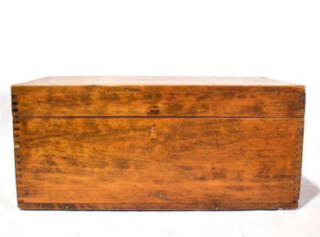 A Chinese Wooden Box,
