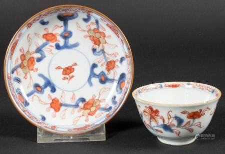 Kumme mit Unterteller / A porcelain bowl with saucer, China, Qing-Dynastie (1644-1911), wohl 18.Jh. (Kangxi-Periode?)