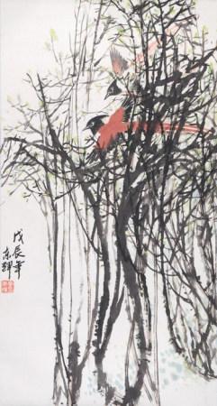 李東輝  花鳥