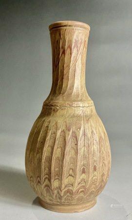 唐  绞丝胎小瓶