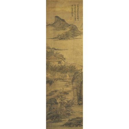 華喦(1682-1756 ) 溪山幽居圖