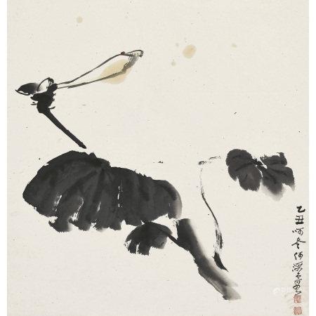 何海霞(1908-1998) 綻放