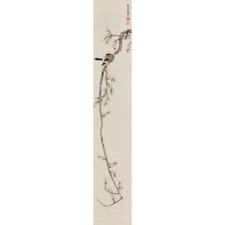 鄧芬(1894-1964) 梅花小鳥