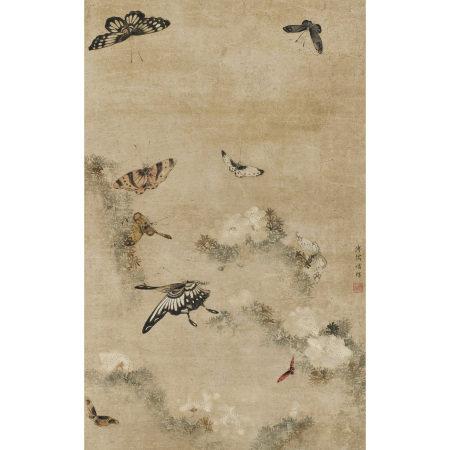 溥儒(1896-1963) 蝴蝶