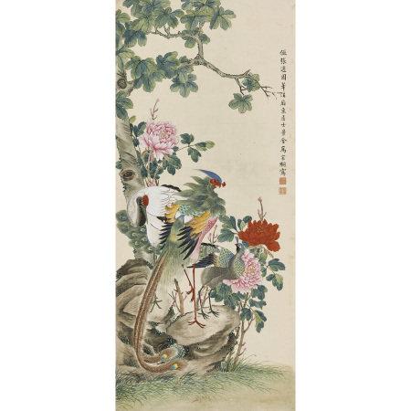 馬家桐(清) 花鳥
