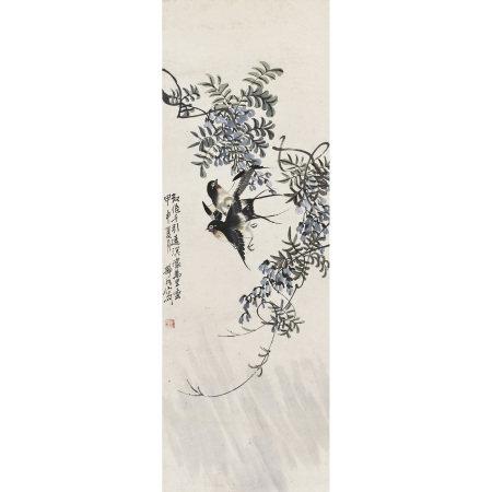 靜川(民國) 花鳥